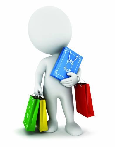 3d people shop
